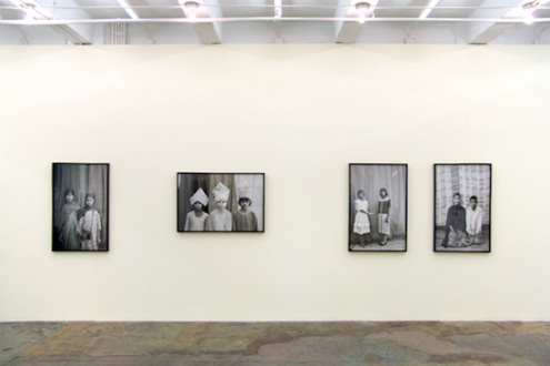 Gauri Gill – 'Balika Mela' and 'Jannat' - Installation view, west wall.