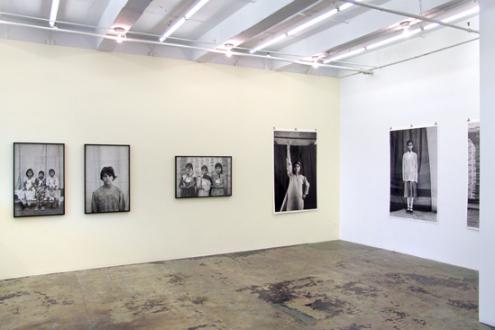 Gauri Gill – 'Balika Mela' and 'Jannat' - Installation view, east and south wall.