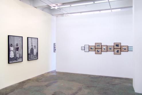 Gauri Gill – 'Balika Mela' and 'Jannat' - Installation view, west and north wall.