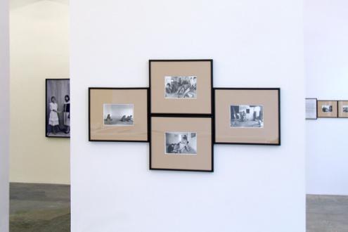 Gauri Gill – 'Balika Mela' and 'Jannat' - Installation view towards west wall.