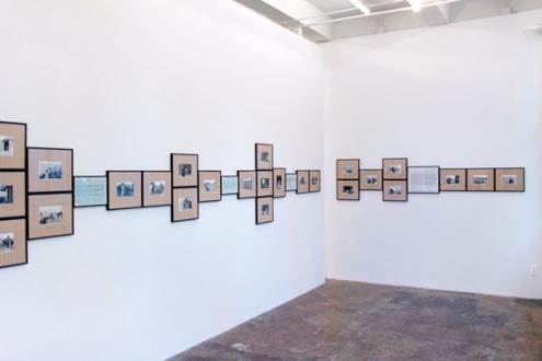 Gauri Gill – 'Balika Mela' and 'Jannat' - Installation view, project space.