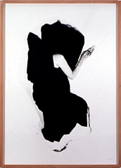 Pintura Habitada and other works, 1975 – present - Negro Exterior, 1981. B/W photograph, 71.25 x 52 in.