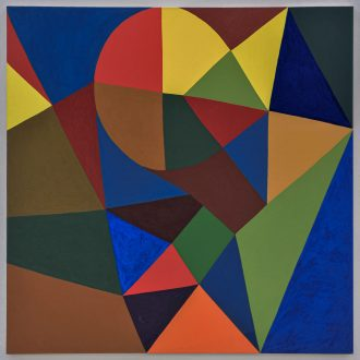 Harriet Korman Notes on Painting: 1969 – 2019 - <i>Untitled</i>, 2001. Oil on canvas, 69 x 60 in.