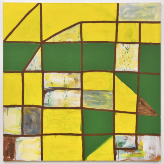 Harriet Korman Notes on Painting: 1969 – 2019 - <i>Untitled</i>, 1996. Oil on canvas, 78 x 78 in.
