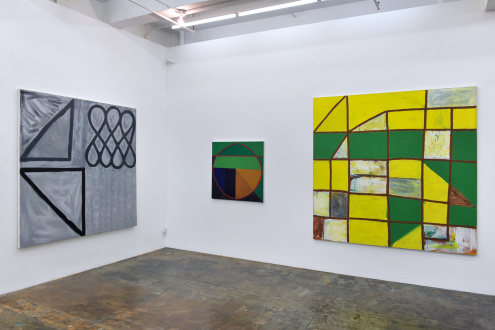 Harriet Korman Notes on Painting: 1969 – 2019 - Installation view: West & North walls