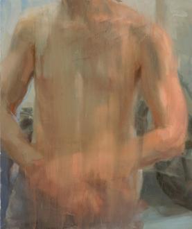 Hard Sauce – Hanneline Røgeberg - Balzac VI, 2008. Oil on canvas, 24 x 20 in.