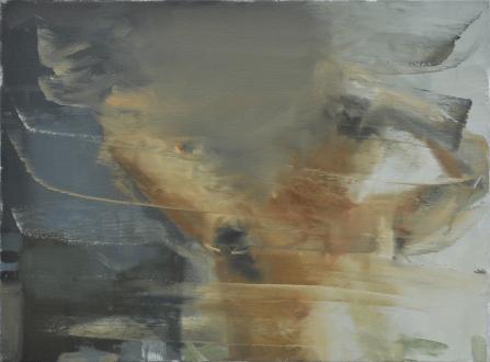 Hard Sauce – Hanneline Røgeberg - Baldwin, 2010. Oil on canvas, 24 x 20 in.