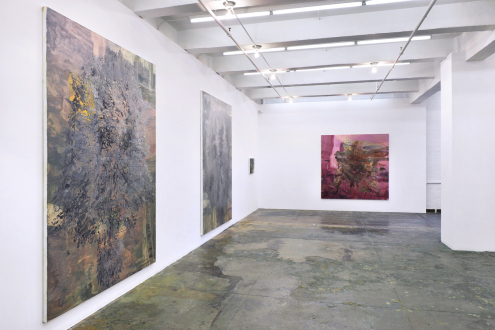 Hard Sauce – Hanneline Røgeberg - Installation view: west and north wall