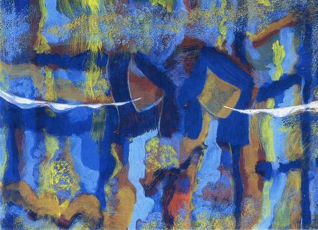 Hubert Schmalix – Yasmin und Iris - Thomas Erben Gallery