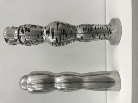 Middle European Mysticism - Juraj Bartusz, <i>Spacetime Sculpture</i>, about 1978, Metal stainless steel.