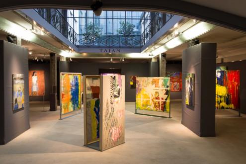 Dona Nelson – Days, Textures and Patterns, Tajan Gallery, Paris - Installation view, Tajan Gallery, Paris.