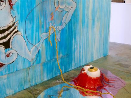 Chitra Ganesh – Upon Her Precipice - Chitra Ganesh Upon Her Precipice - installation view.