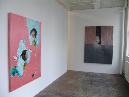 Chen Ke – Li Jikai – Wei Jia - Installation view, Project space: Chen Ke, We Jia.