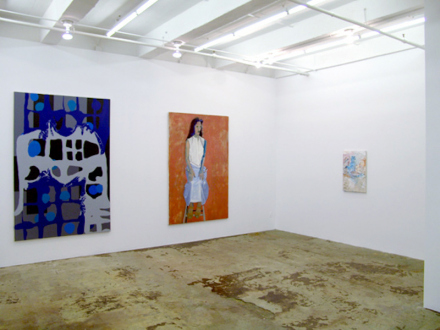 Dona Nelson – in situ: paintings 1973 – present - Installation view, east and south wall.