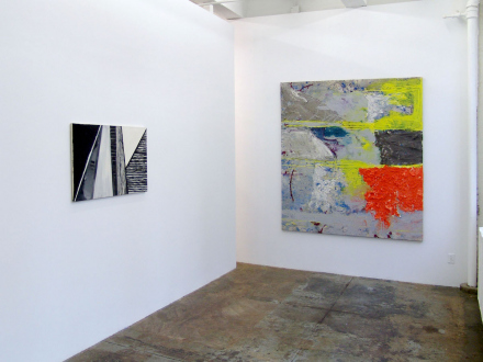 Dona Nelson – in situ: paintings 1973 – present - Installation view, project space.