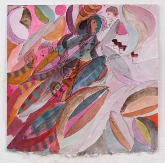 Jackie Gendel – Jackie Gendel - Jackie Gendel, Untitled, 2015. Gouache on paper, 12 x 12 in.