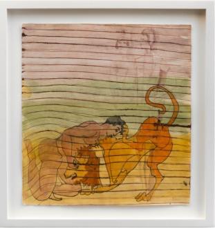 Jackie Gendel – Jackie Gendel - Jackie Gendel, Untitled, 2015. Gouache on paper, 10 x 10.5 in.