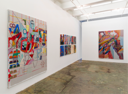 Jackie Gendel – Jackie Gendel - Installation view: west and north wall