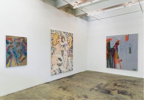 Jackie Gendel – Jackie Gendel - Installation view: west and south wall