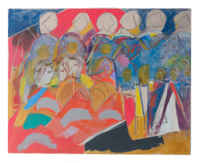Jackie Gendel – Stained Glass Cliff - Thomas Erben Gallery