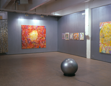 Jutta Koether – I Is Had Gone - Installation view, north and east wall.