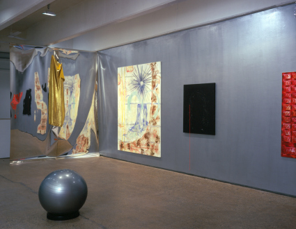 Jutta Koether – I Is Had Gone - Installation view, south and west wall.