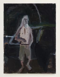 Janice Nowinski - <i>Bad Boyfriend #1</i>, 2013. Oil on canvas, 16 x 12 in.