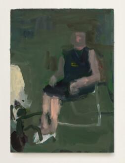 Janice Nowinski - <i>Grandma Jean #1</i>, 2021. Oil on panel, 7 x 5 in.