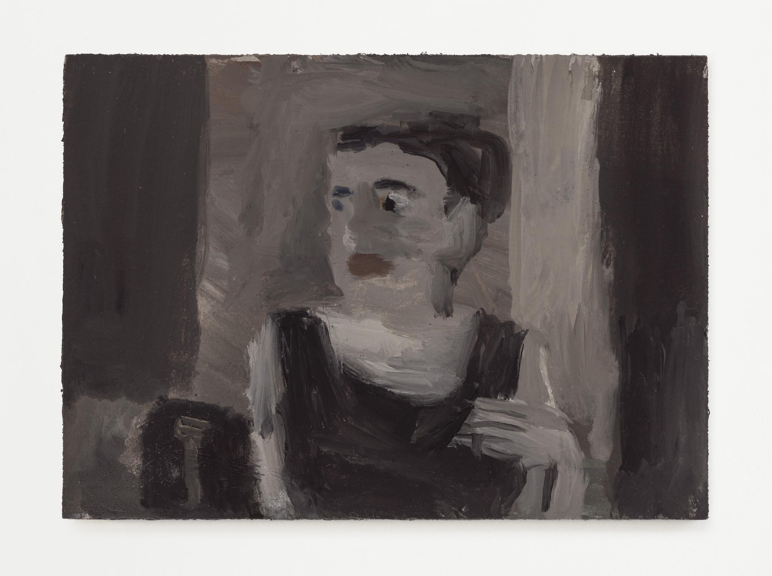 Janice Nowinski - <i>Grandma Jean #2</i>, 2021. Oil on primed linen panel, 5 x 7 in.