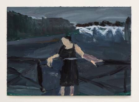 Janice Nowinski - <i>Grandma Jean #3</i>, 2021. Oil on primed linen panel, 5 x 7 in.