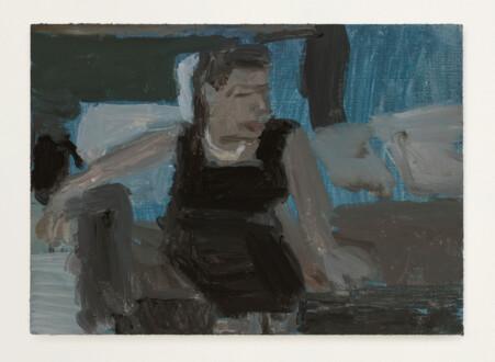 Grandma Jean - <i>Grandma Jean #4</i>, 2021. Oil on primed linen panel, 5 x 7 in.