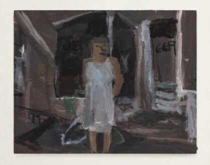 Grandma Jean - <i>Grandma Jean #5</i>, 2021. Oil on panel, 11 x 14 in.