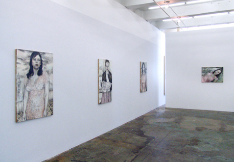 Jenny Scobel  – Women - Installation view, west and north wall.