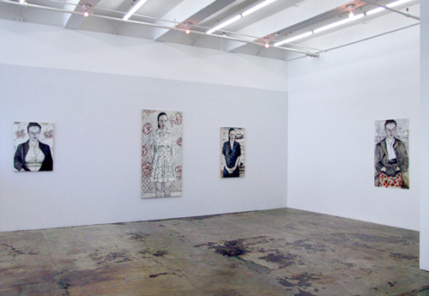 Jenny Scobel  – Women - Installation view, east and south wall.