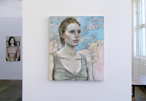 Jenny Scobel  – Women - Installation view toward west wall.