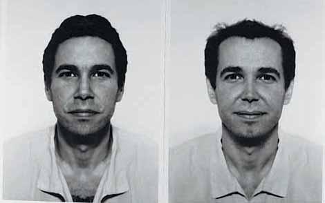 Middle European Mysticism - Jiří David, <i>Jeff Koons</i> (diptych), 1993-1995. Altered photographs, silver gelatin prints on Baryta Paper, 100 x 140cm overall, edition of 5 (+ 1AP)