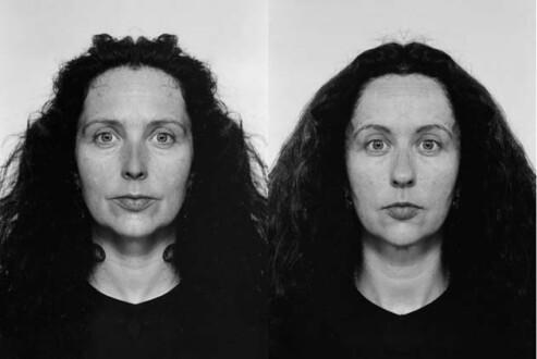 Middle European Mysticism - Jiří David, <i>Kiki Smith</i> (diptych), 1993-1995. Altered photographs, silver gelatin prints on Baryta Paper, 100 x 140cm overall, edition of 5 (+ 1AP)