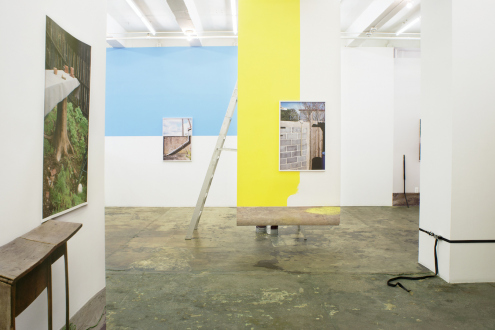 Kathrin Sonntag – Problems and Solutions - Installation view: east wall