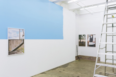 Kathrin Sonntag – Problems and Solutions - Installation view: east and south wall