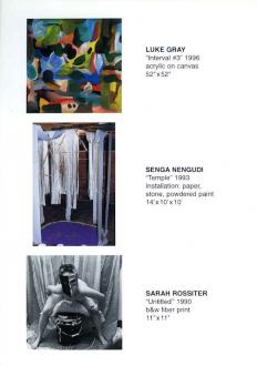 Luke Gray, Senga Nengudi, Sarah Rossiter - Thomas Erben Gallery
