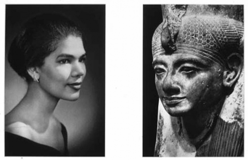 15 Years Thomas Erben - Lorraine O'Grady, Sisters 4, 1980/94. Cibachrome diptych, 28 x 39 in, ed. of 8 (+ 3 AP).