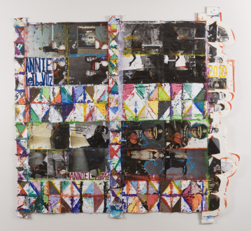 Independent Art Fair 2015 - Colin Powell Paper Quilt, 2010.