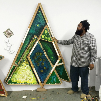 Art Basel Miami Beach: Mike Cloud - Artist with L of L