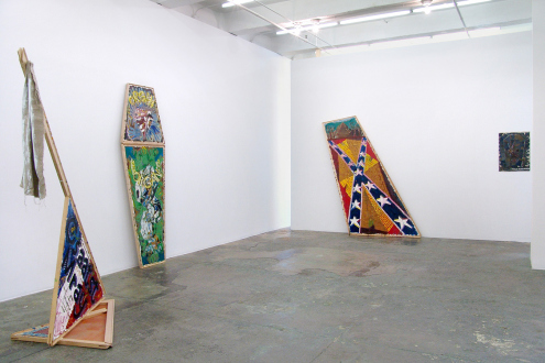 Mike Cloud – Bad Faith and Universal Technique - Installation view: west & north walls