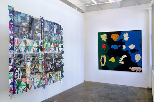 Mike Cloud – Bad Faith and Universal Technique - Installation view, project space: Mike Cloud, Dona Nelson.