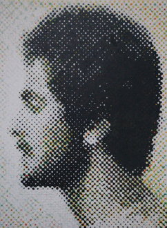 Contemporary Art from Pakistan – Huma Mulji, Bani Abidi, Naiza Khan, Hamra Abbas, Rashid Rana, Mahbub Shah, Zahoor Ul Akhlaq, Muhammad Zeeshan - Mahbub Shah: Untitled, 2006. Acrylic on board, 48 x 36 in.