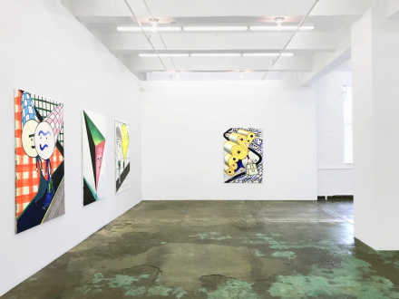Marcus Weber – C&A - North wall, installation view