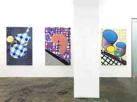 Marcus Weber – C&A - South wall, installation view