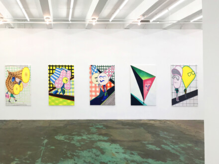 Marcus Weber – C&A - West wall, installation view