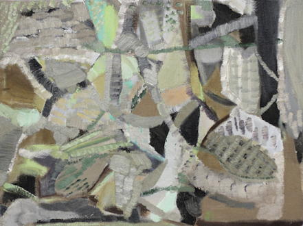 QuietlyLoud – Natasha Conway, Alisha Kerlin, Cassie Raihl - Natasha Conway, Untitled, 2010. Oil on linen. 14 x 19 in.